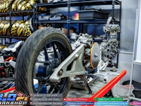 canh chỉnh động cơ xe máy