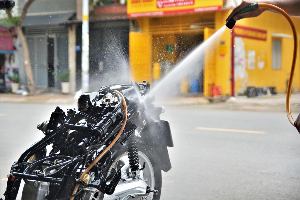 dịch vụ rửa xe siêu sạch tại n20 fi store